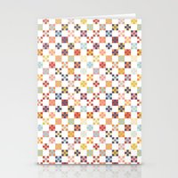 quilt Stationery Cards featuring Quilt by Anh-Valérie