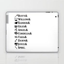 Buffy the Vampire Slayer Names Laptop & iPad Skin