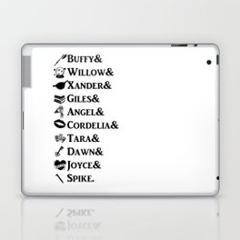 Buffy the Vampire Slayer Names Laptop & iPad Skin