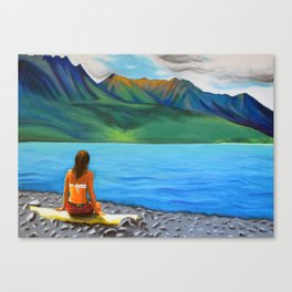 Epuyén Lake  Canvas Print