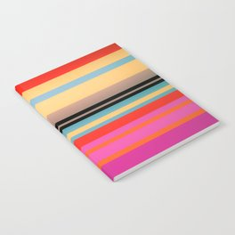 Sunset Stripes Notebook