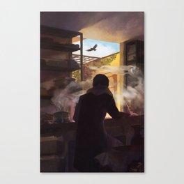 groundbound Canvas Print