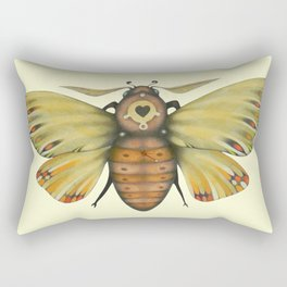 Moth n. 1 (ORIGINAL SOLD). Rectangular Pillow