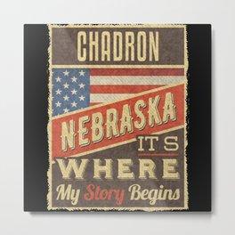 Chadron Nebraska Metal Print