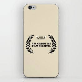 Film Festival Winner : Best 4K Short iPhone Skin