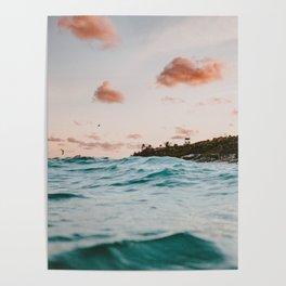 summer sunset iv Poster