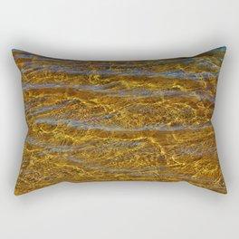 Transparent Water Bottom Rectangular Pillow