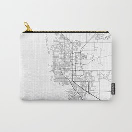 Minimal City Maps - Map Of Boulder, Colorado, United States Carry-All Pouch