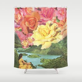 Summer Skies Shower Curtain
