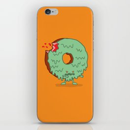 The Zombie Donut iPhone Skin