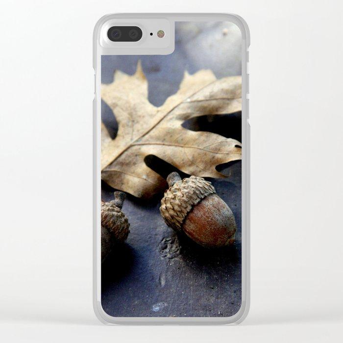 Under the oak Clear iPhone Case
