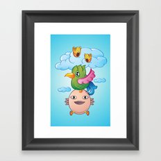 I can fly Framed Art Print