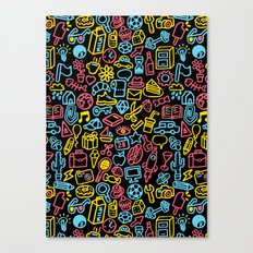 Galore (black version) Canvas Print