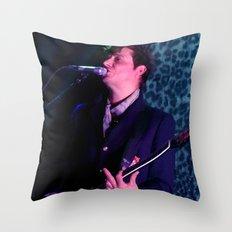 Jamie Hince // The Kills Throw Pillow