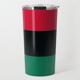 Afro-American / Pan-African / UNIA Flag Travel Mug