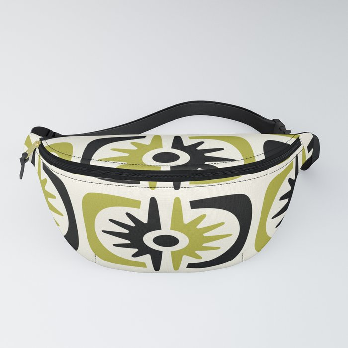 Mid Century Modern Big Bang Pattern Fanny Pack