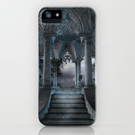 Gothic Mausoleum iPhone Case
