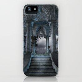 Gothic Mausoleum iPhone Case