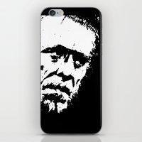 bukowski iPhone & iPod Skins featuring Charles Bukowski by brett66