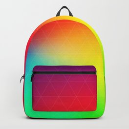 Treat Yo Self Well - gradient no3 Backpack