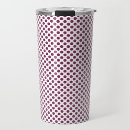 Boysenberry Polka Dots Travel Mug