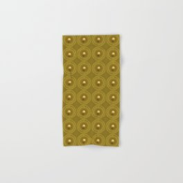 Golden Sunrise Pattern Hand & Bath Towel