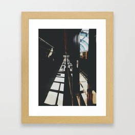 West Rail (Hong Kong) Framed Art Print