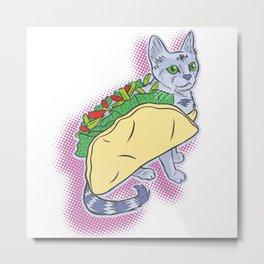 Taco Cat! Metal Print