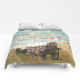 Over There Yonder Comforters