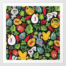 Ugly Easter. Art Print