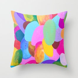 Overly Over It Throw Pillow