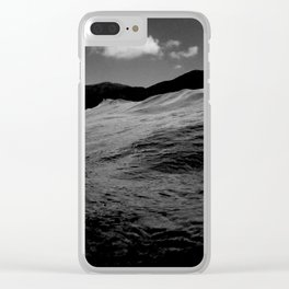 mare nero Clear iPhone Case