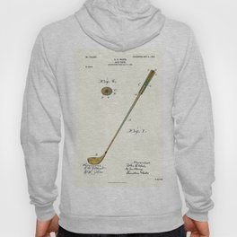 Golf Club Patent - Circa 1903 Hoody