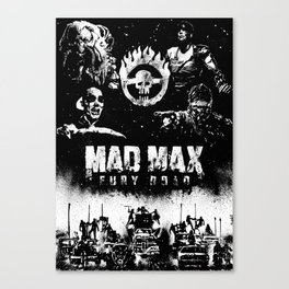 Baldolini Fabio for Mad Max Fury Draw Canvas Print
