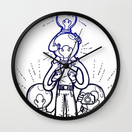 Threadless Live at Marwen: Adrian Choy Wall Clock