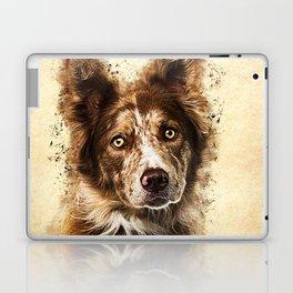 Border Collie Laptop & iPad Skin