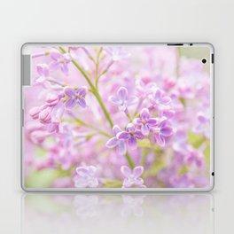 Lilac Flowers Mist Laptop & iPad Skin