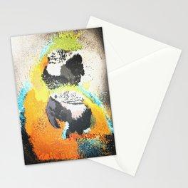 Parrot Pattern Stationery Cards