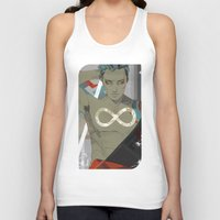 infinity Tank Tops featuring Infinity by Cassandra Jean