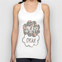 tfios Tank Tops featuring OKAY?OKAY THE FAULT IN OUR STARS TFIOS HAZEL AUGUSTUS CLOUDS #2 by monalisacried