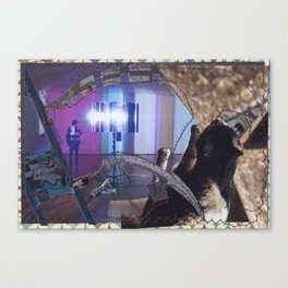 Oppie In The MOMA Canvas Print