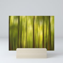 Warmth of the Forests Colors Mini Art Print