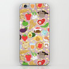 Cute food iPhone & iPod Skin