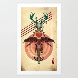 Stay Human Art Print