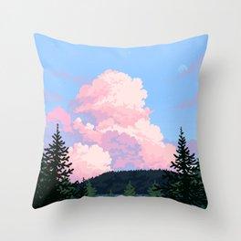 Stormfront Throw Pillow