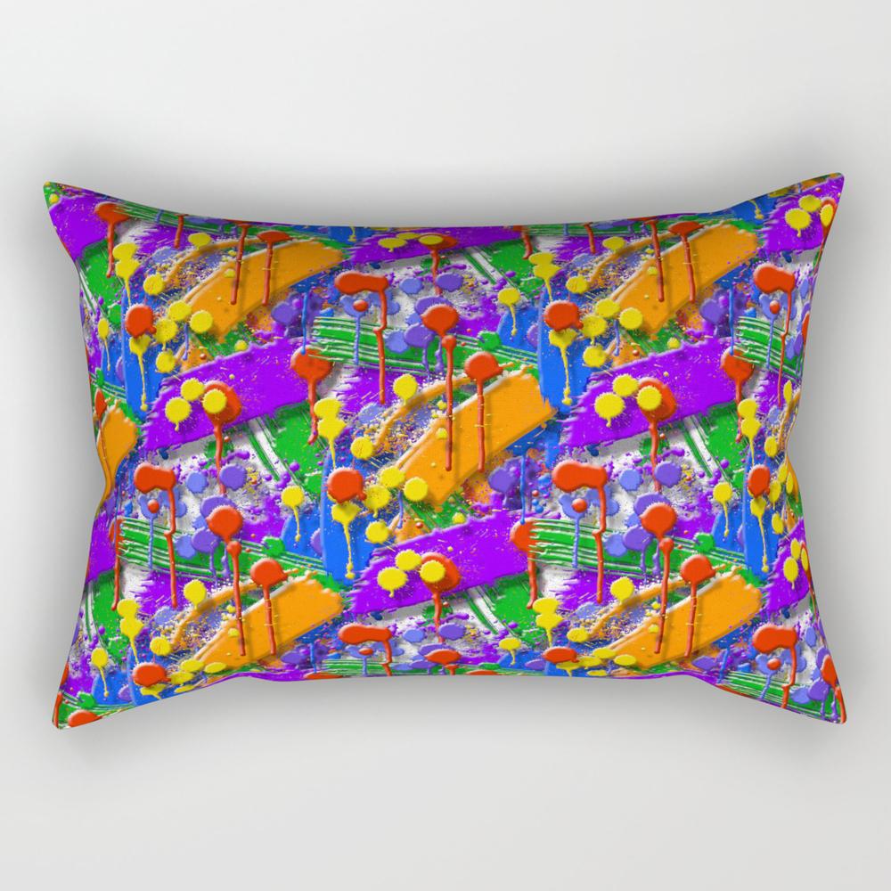 The Big O (drip Porn Pattern) Rectangular Pillow RPW856007