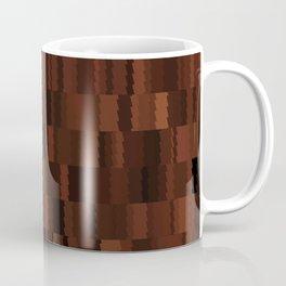 Brown Earthy Digi Fractal Coffee Mug