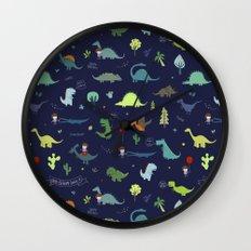 Dante Dinosaur Wall Clock