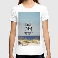 faith T-shirts featuring Faith by KimberosePhotography