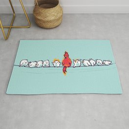 That new guy turns out to be a disaster Rug